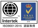 ISO9001:2008 認証取得 認証登録番号08757